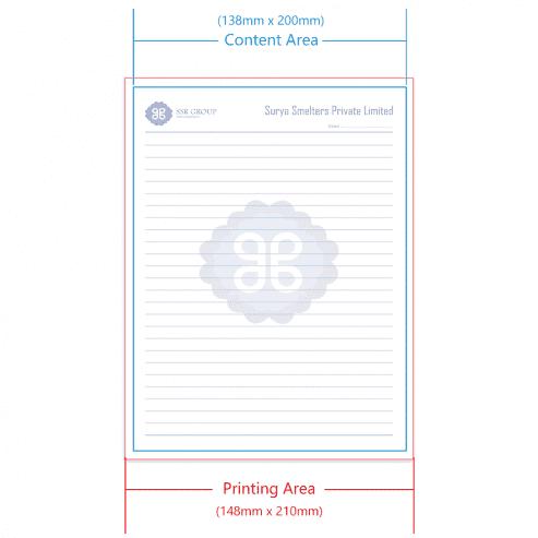 India Printer Form A5 Margins